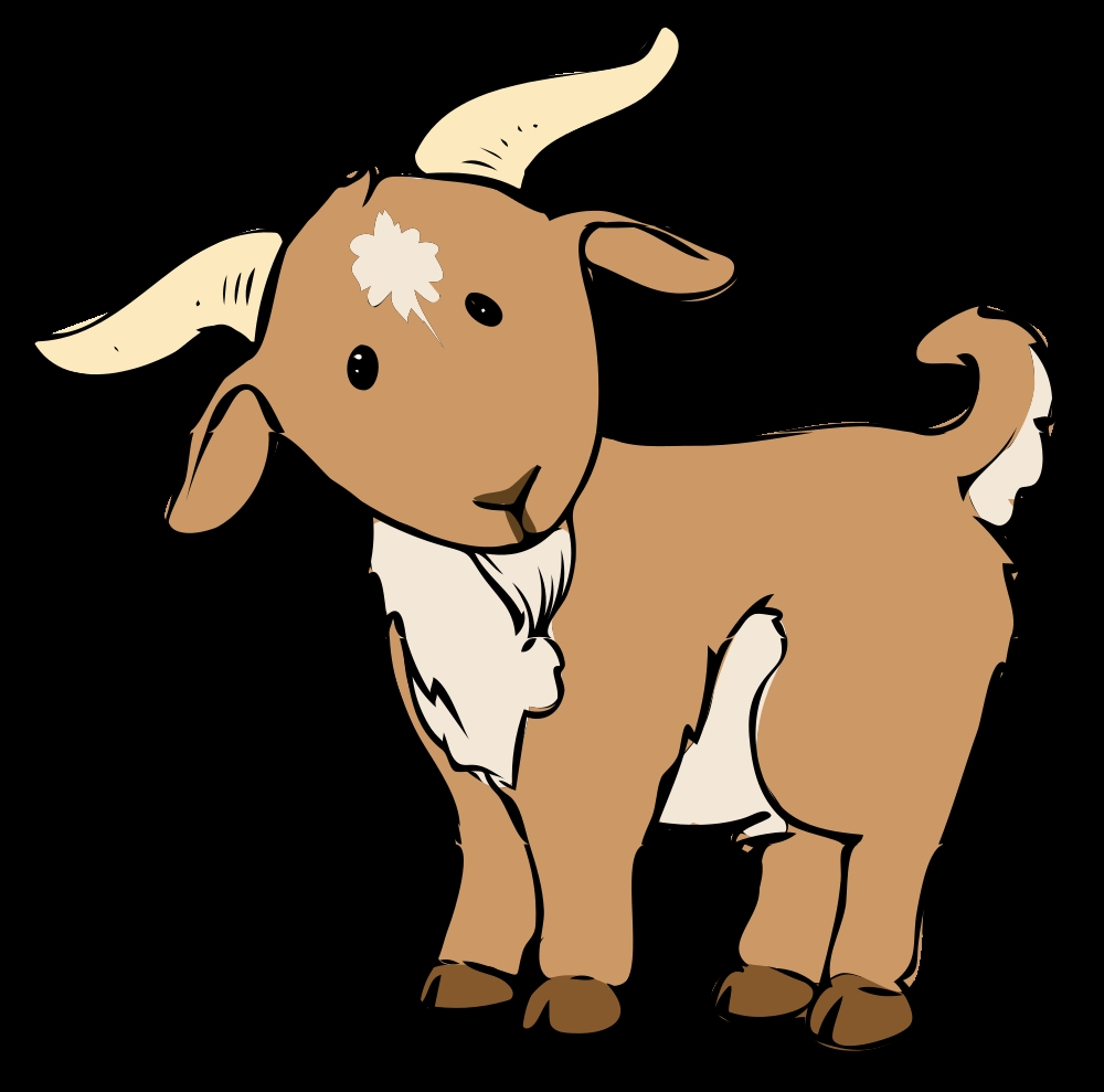 1000x989 Unique Goat Clipart Gallery