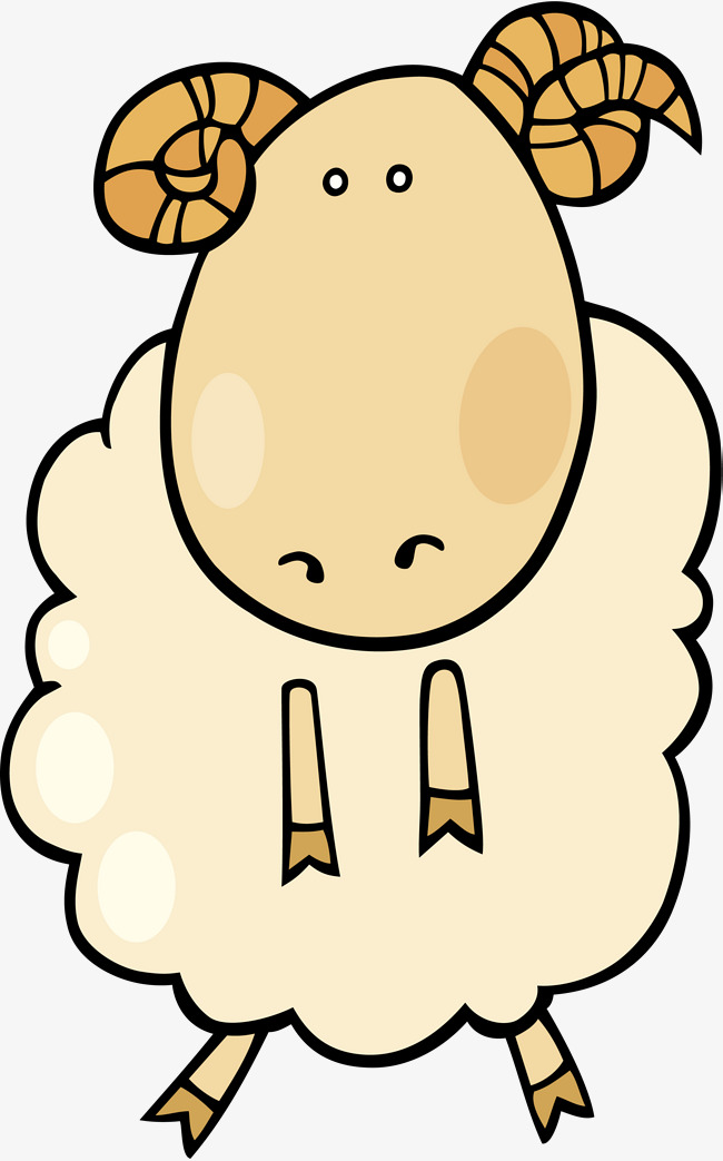 650x1043 Beige Cute Goat, Beige, Lovely, Goat Png Image And Clipart