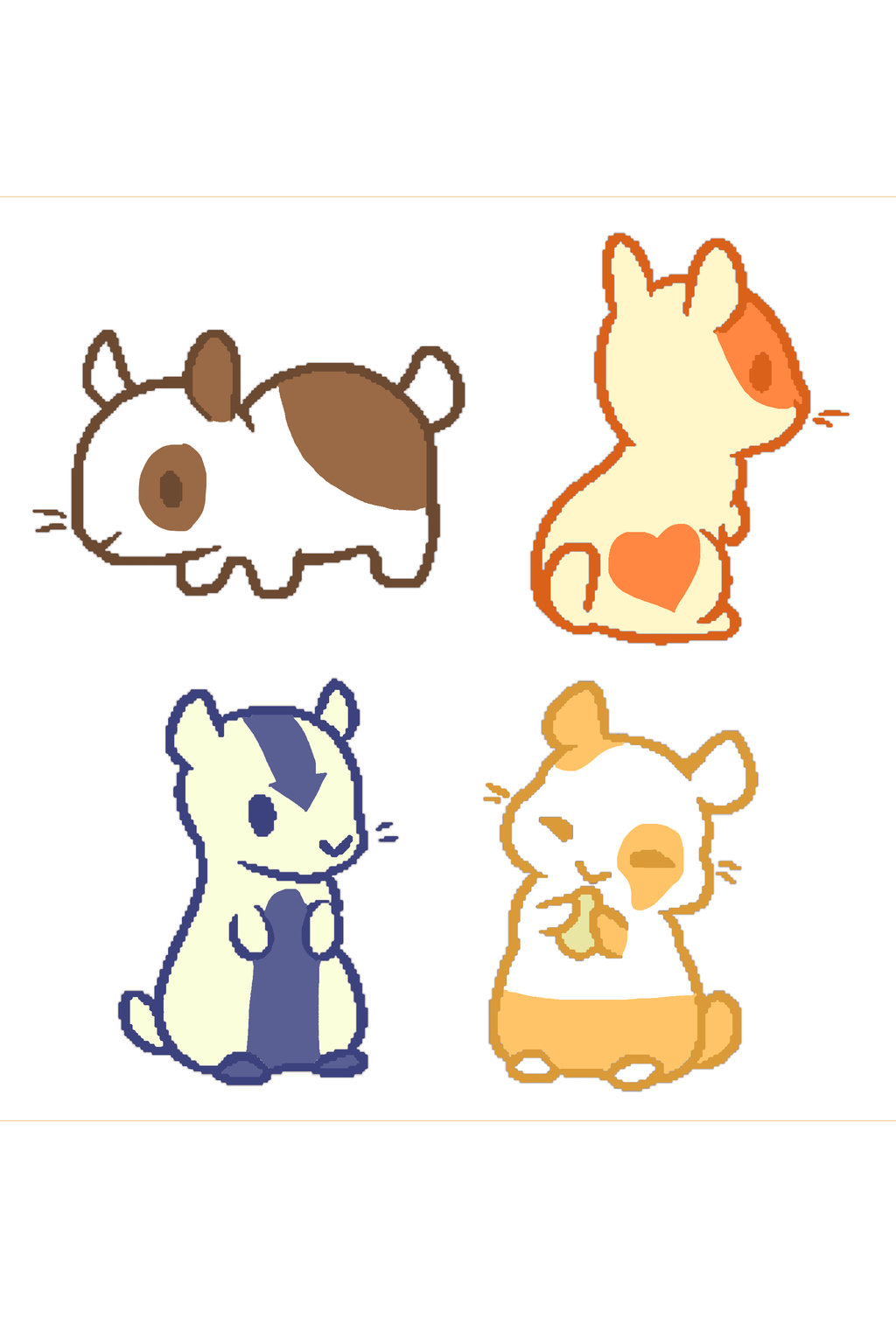 1024x1507 Cute Hamster Adopts! 2 (Open) By Thesopralto