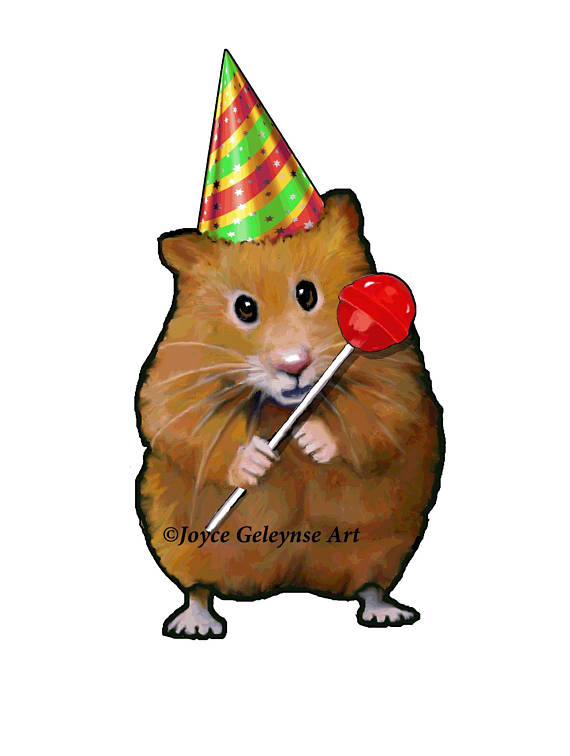 570x756 Clip Art Freehand Drawing Cute Hamster Holding A Lollipop