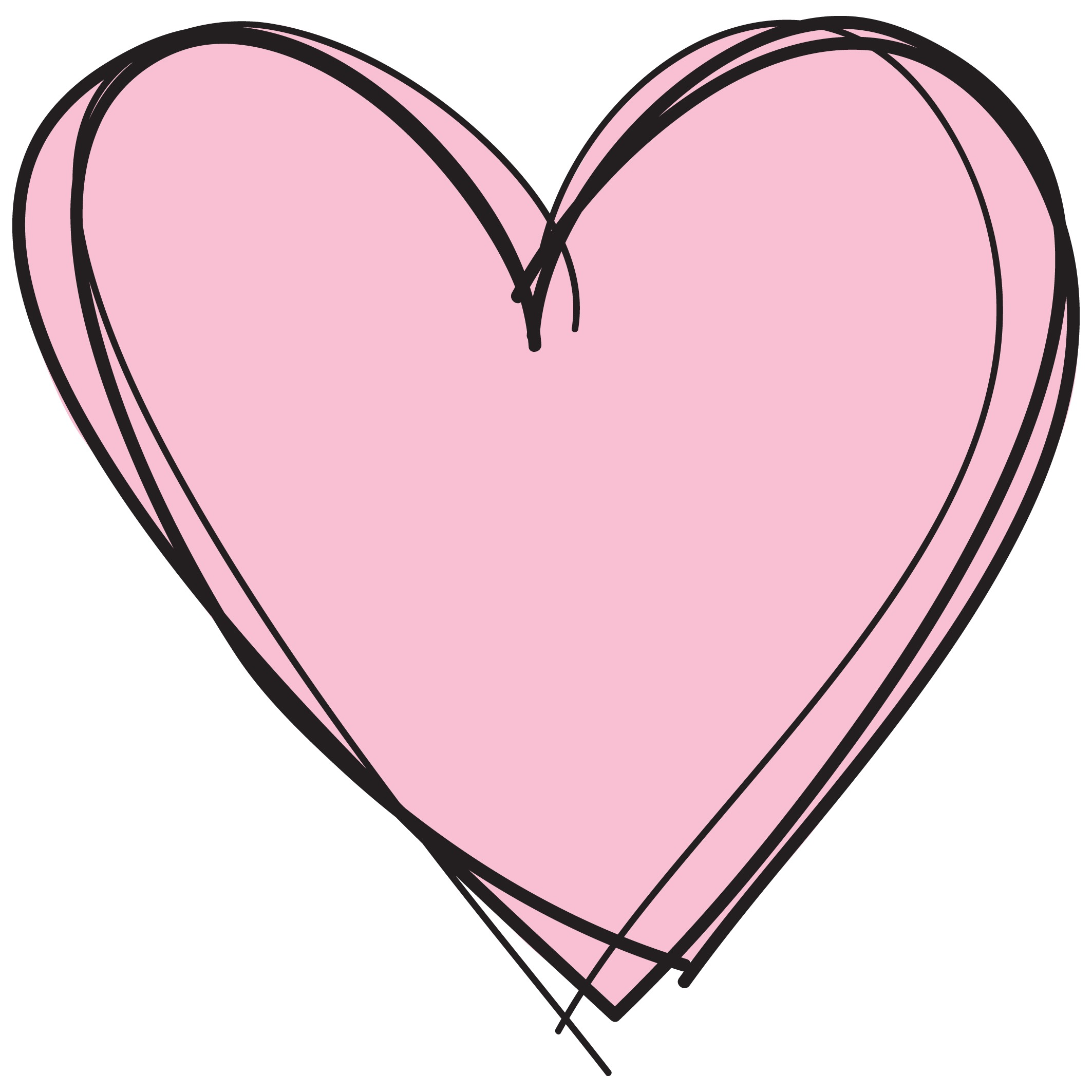 Cute Heart Clipart at GetDrawings   Free download