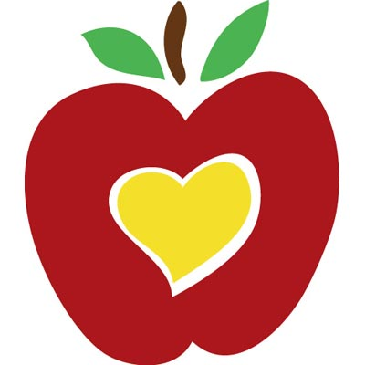 400x400 Cute Apple Clip Art Free Clipart Love