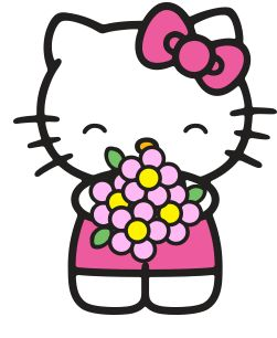 Cute Hello Kitty Clipart