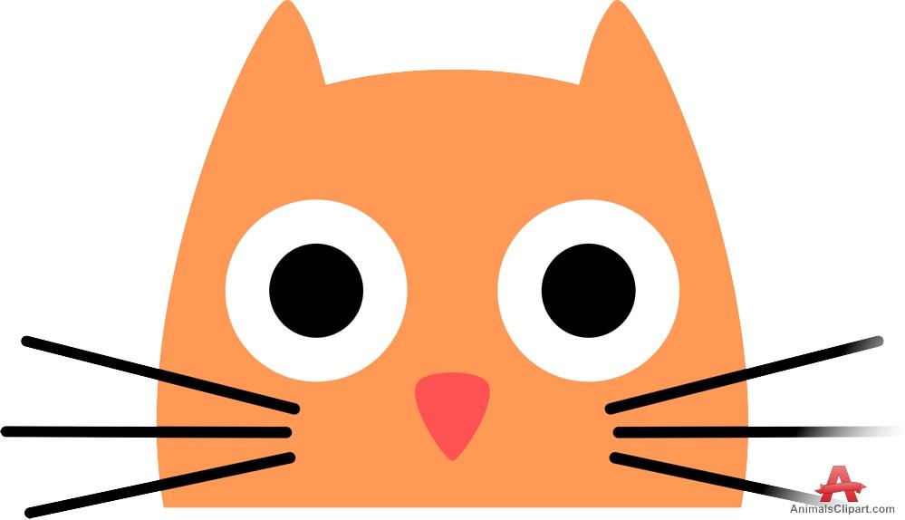 999x574 Cat Face Clipart