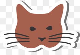 260x180 Kitten Havana Brown Tabby Cat Clip Art