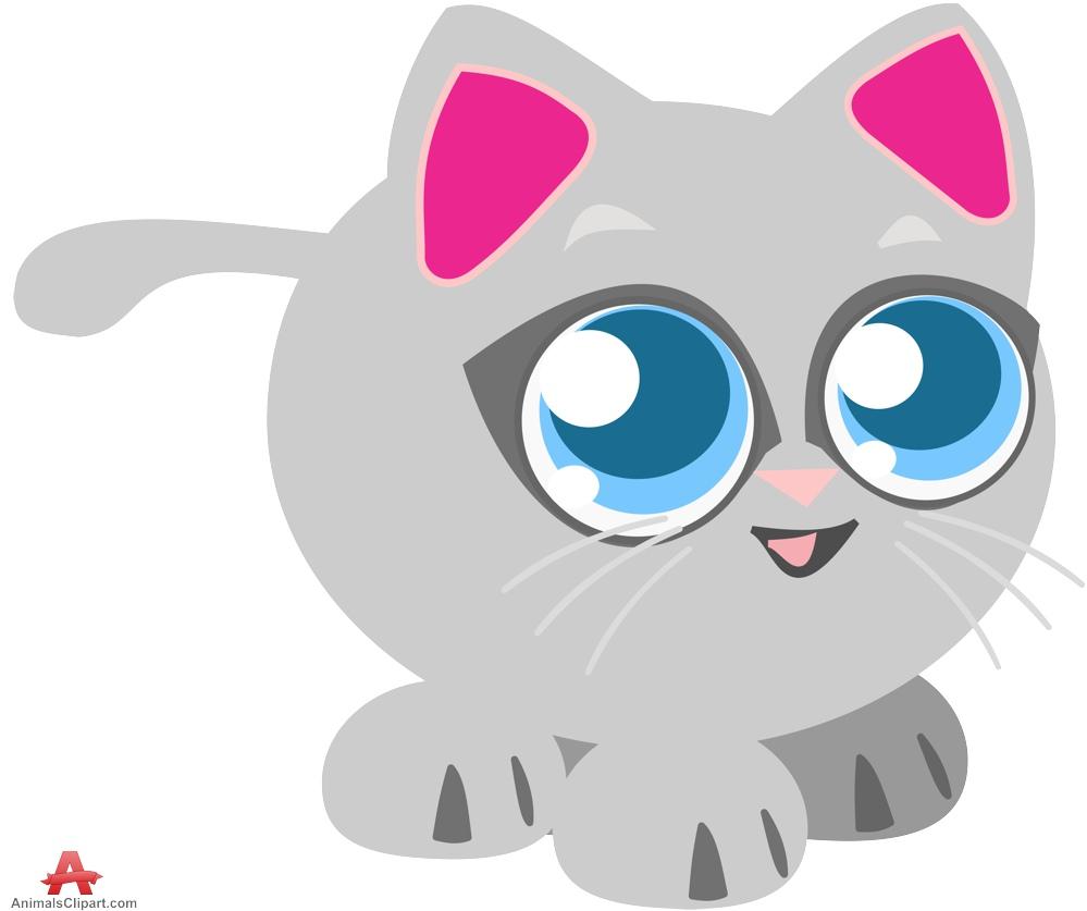 999x837 Little Cute Kitten Cat Clipart Free Clipart Design Download
