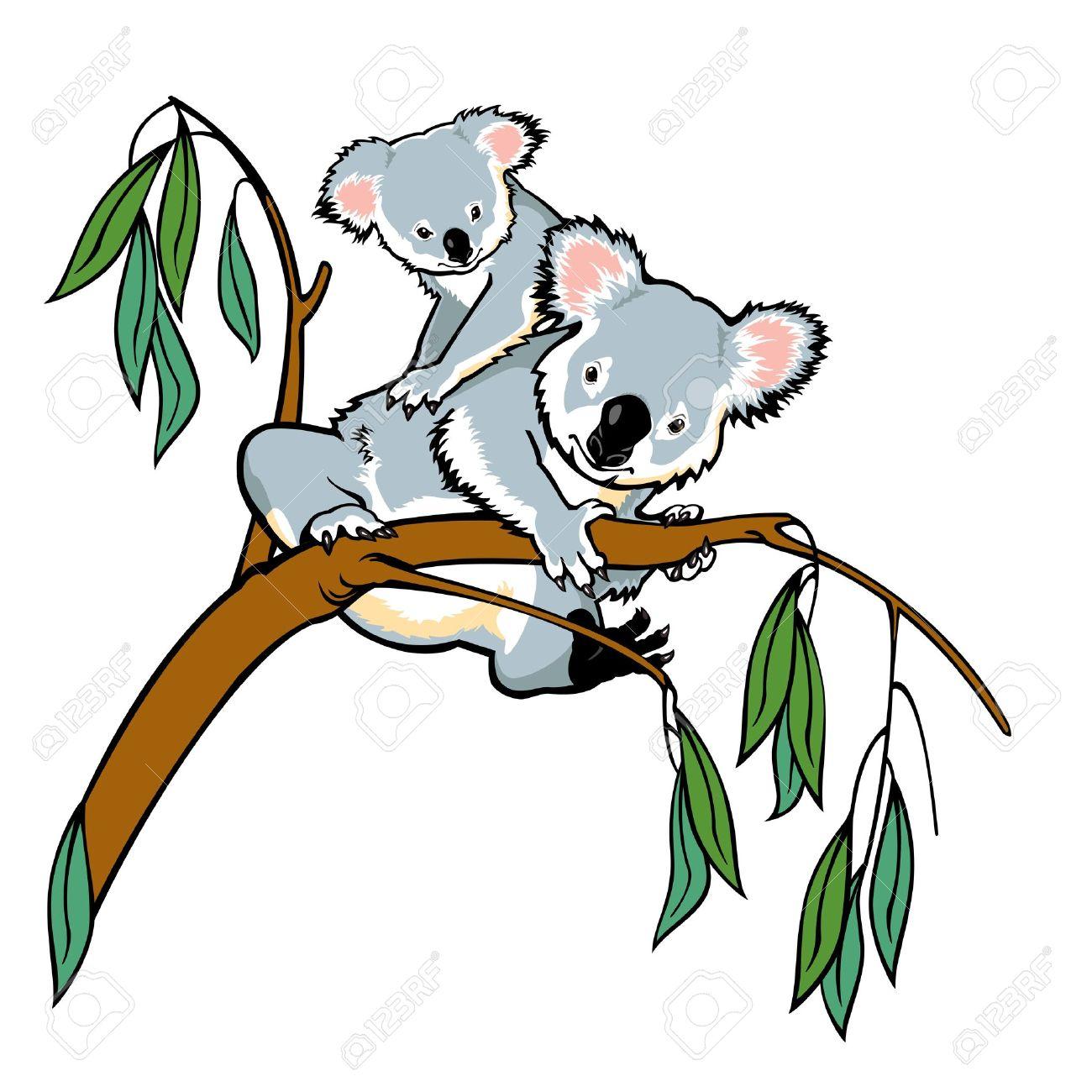 1300x1300 Eucalyptus Clipart Cute Koala 3508594