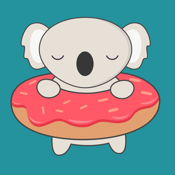 600x600 My Donut Has A Kawaii Cute Koala