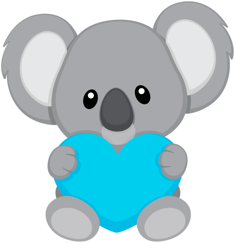 774x800 Koala11.png Clip Art, Bears And Animal Crafts