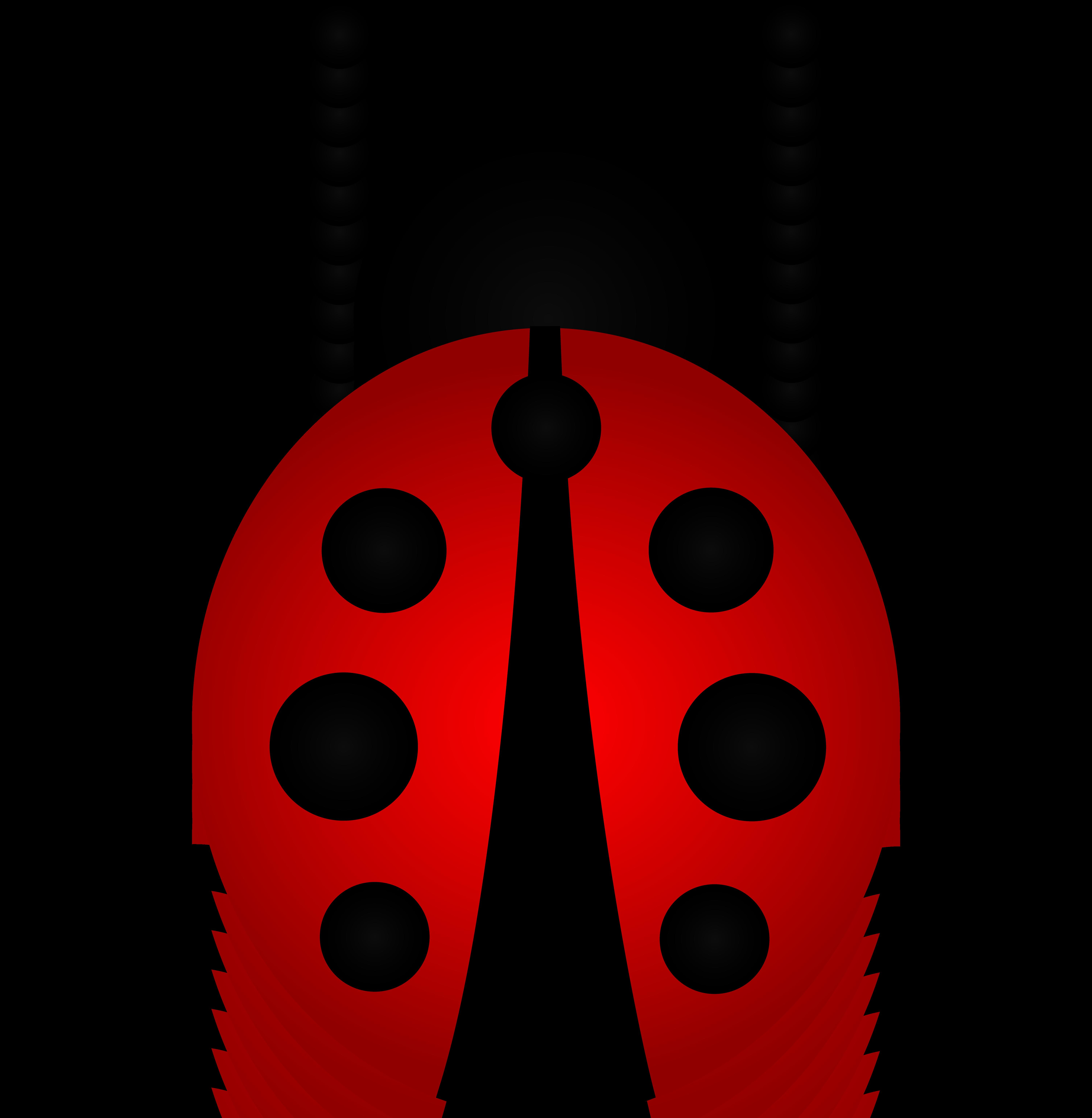 6023x6167 Cute Ladybug Clipart