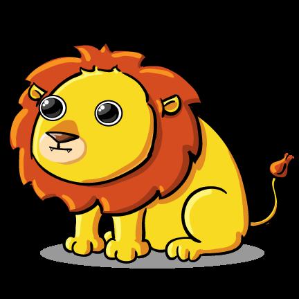 432x432 This cute lion clip art is Clipart Panda