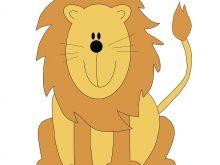 220x165 cute lion clipart to use public domain lion clip art history