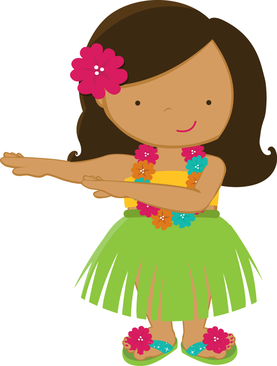 900x1188 Collection Of Hawaiian Little Girl Clipart High Quality