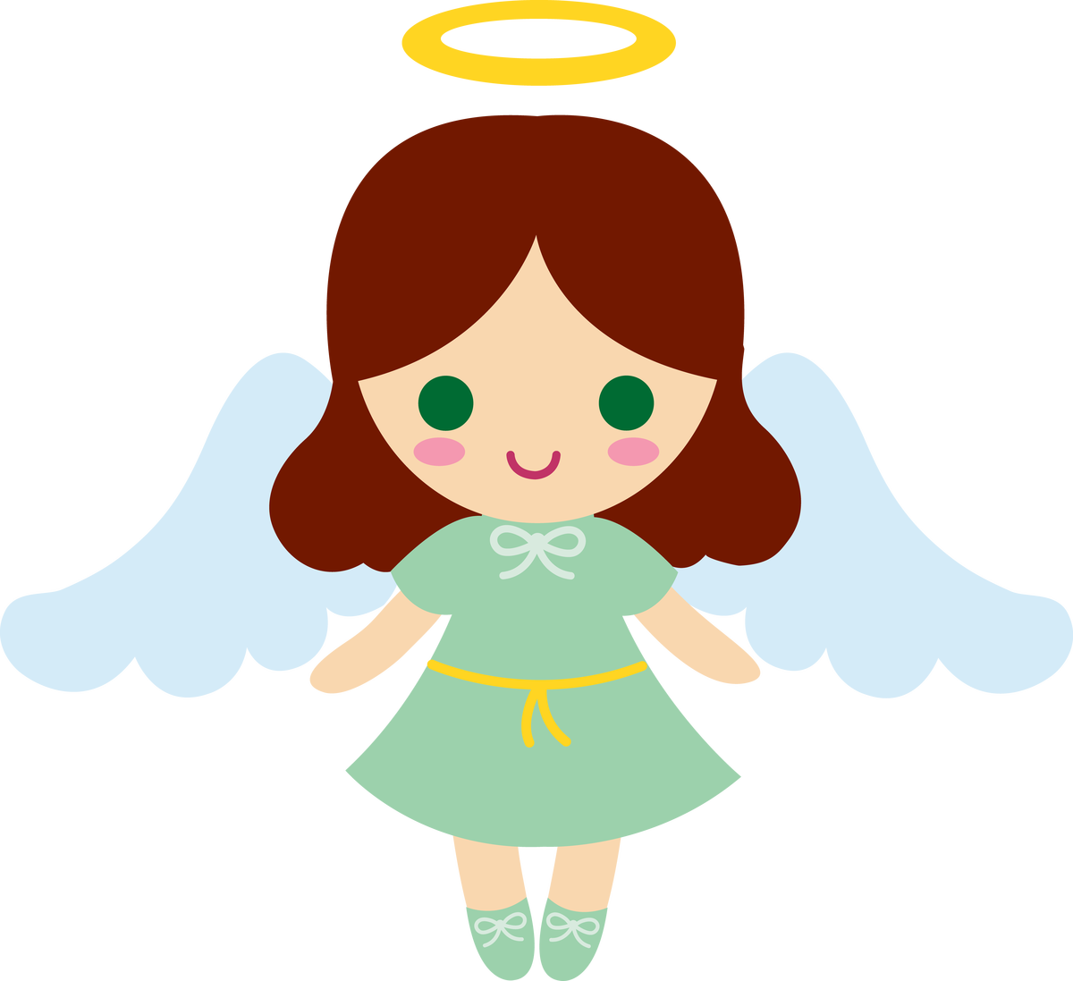 1200x1097 Angel Clip Art Free Download