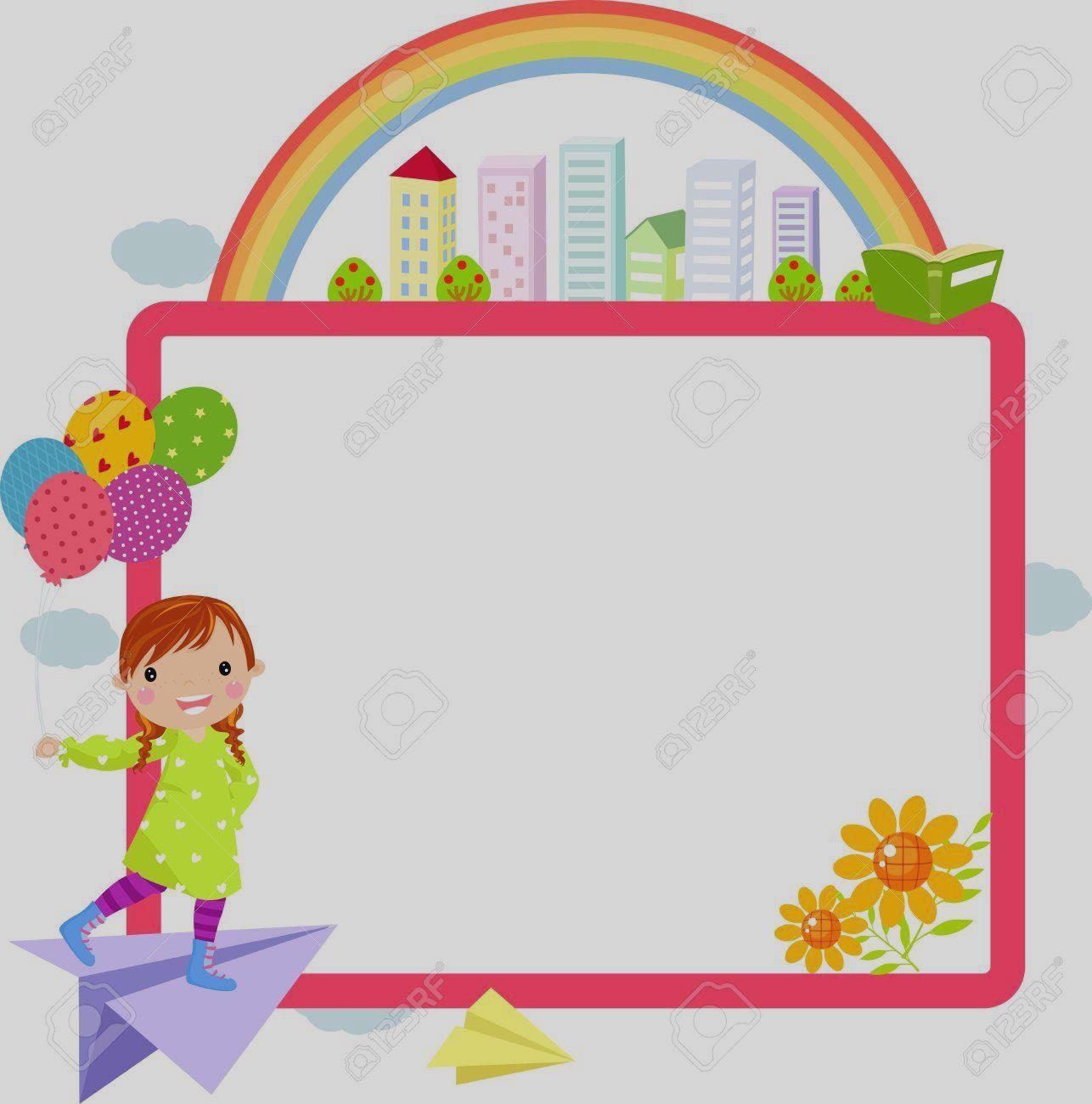 1286x1300 Clip Art Cute Little Girl And Frame Royalty Free Cliparts Vectors