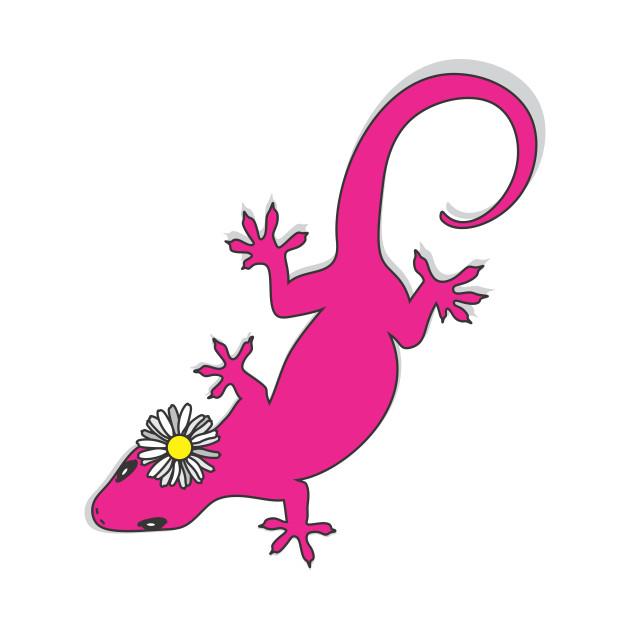 630x630 Cute Lizard