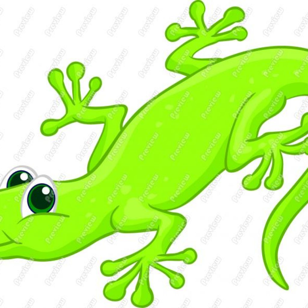 1024x1024 Cute Lizard Clipart