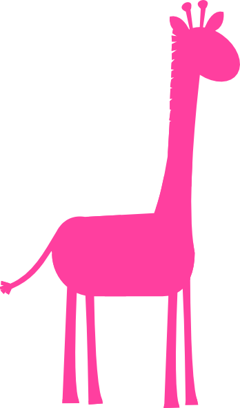 348x591 Collection Of Cute Pink Giraffe Clipart High Quality, Free