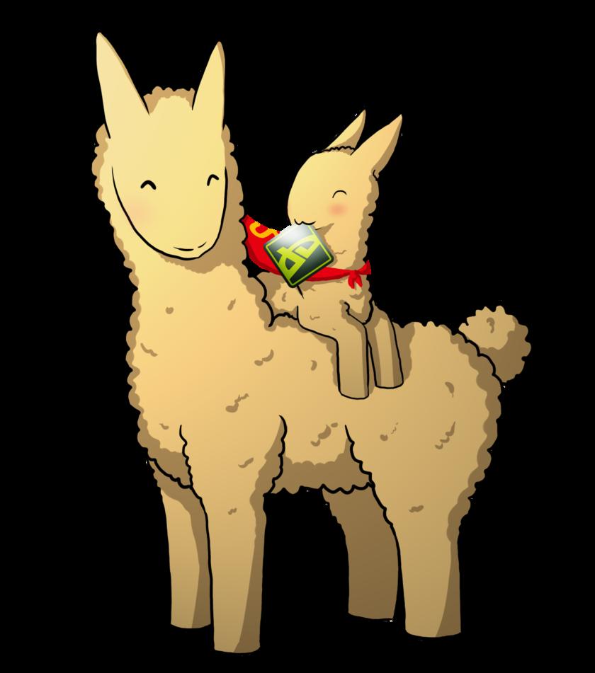 840x951 Llama Glomp X3 By A R T 3 M I S