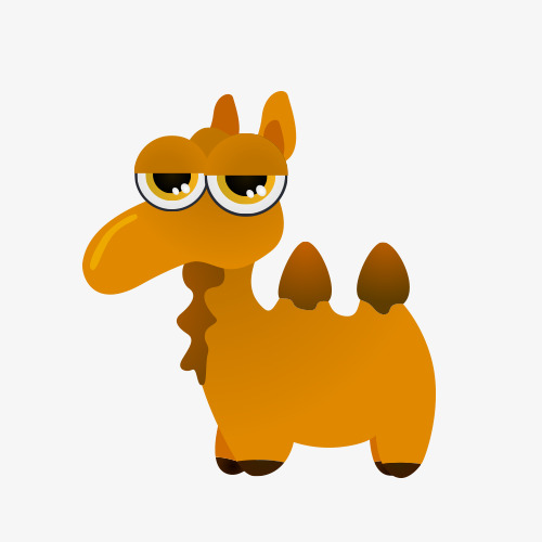 500x500 Cute Cartoon Camel Animal, Cute Animals, Camel, Cartoon Camel