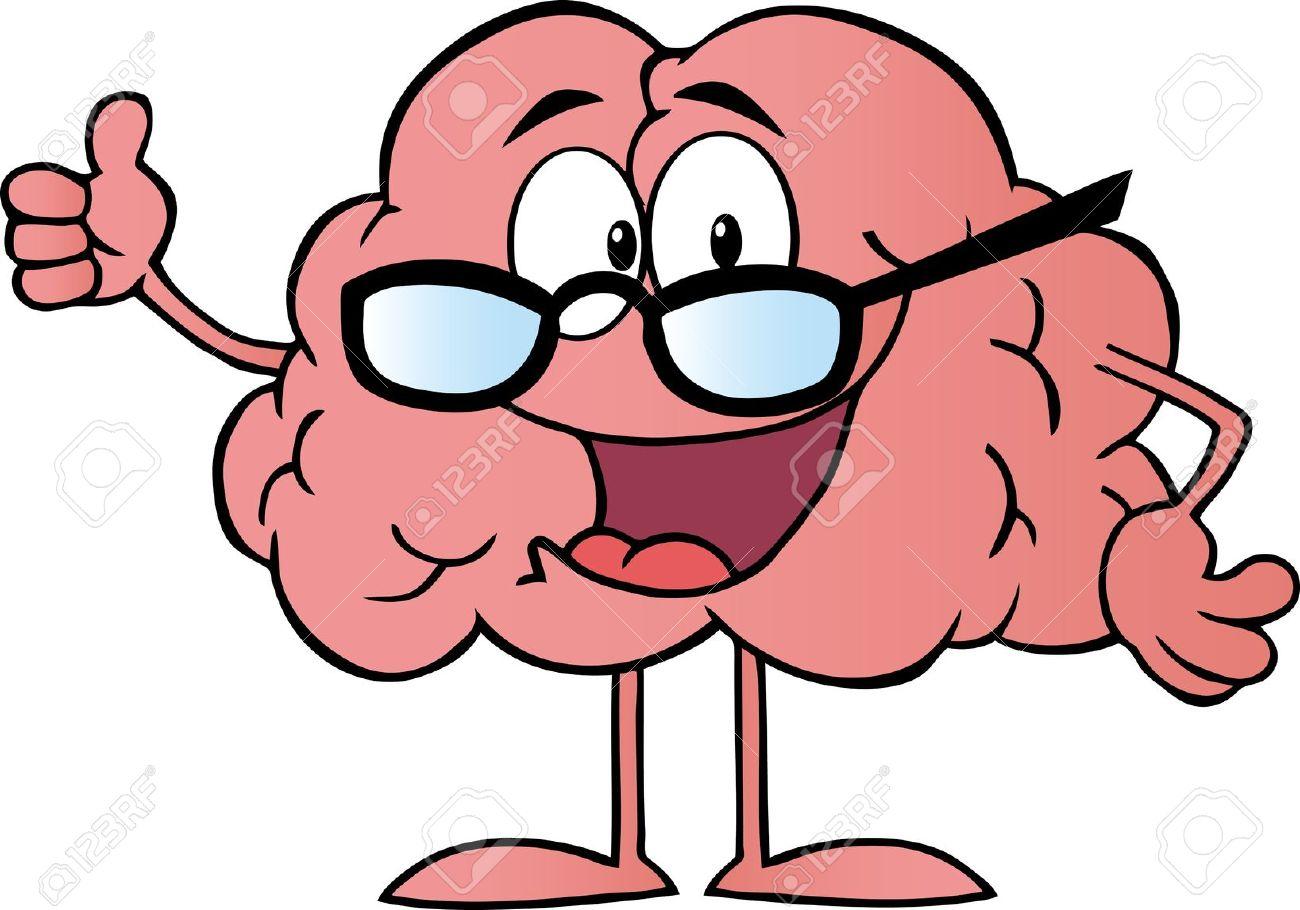 1300x910 Cute Clipart Brain 3209442