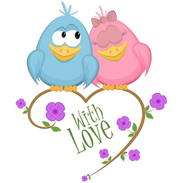 600x600 Cute Love Birds Cartoon Clip Art Images.all Bird Images Are Free