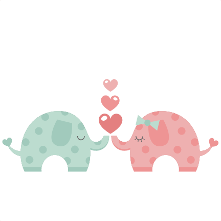 432x432 Collection Of Elephant Love Clipart High Quality, Free