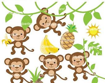 340x270 Monkey Clipart