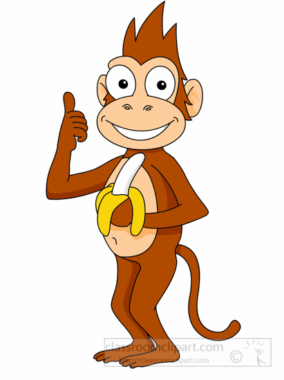 411x550 Free Monkey Clipart Images Cute Monkey Clipart