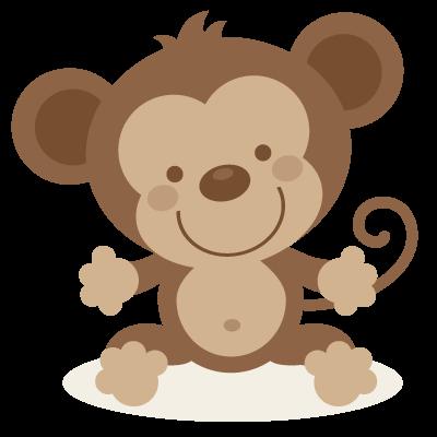 400x400 Cute Monkey Clip Art
