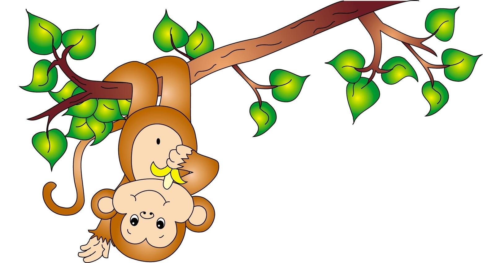 1560x849 Cute Monkey Clip Art