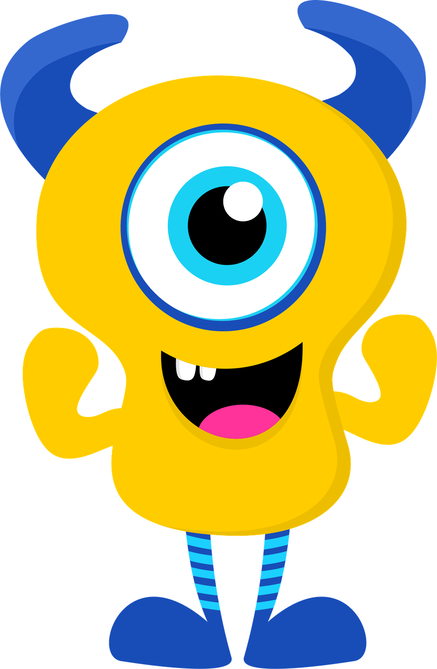 Cute Monster Clipart at GetDrawings | Free download