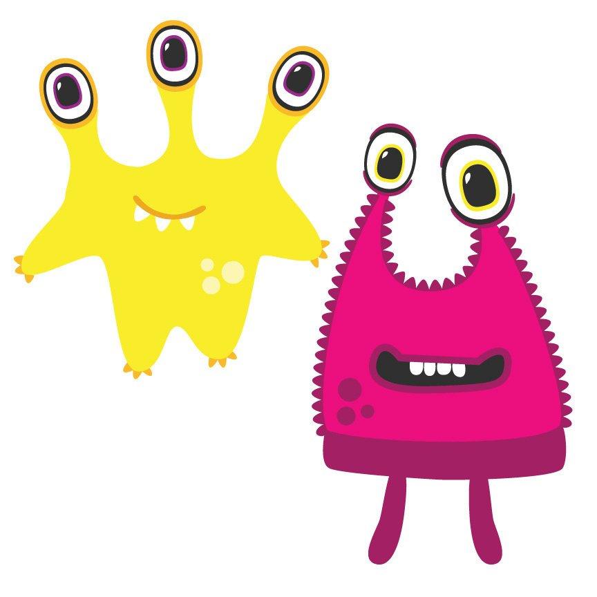 864x864 Monster Clipart Cute Monsters Clip Art, Alien Clipart, Alien
