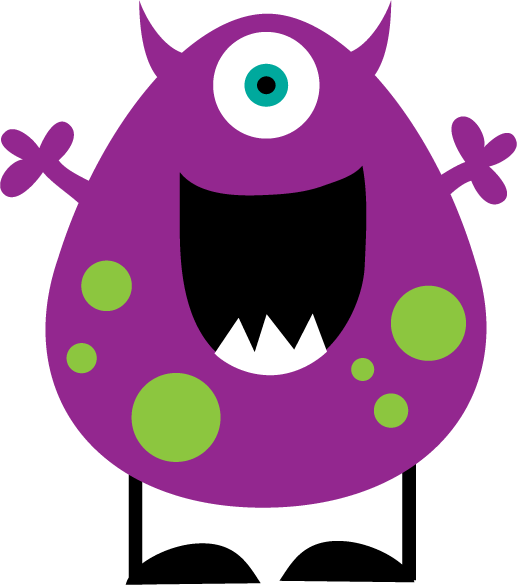 517x585 Cute Monster Clipart The Eagle S Nest Doing The Monster Math