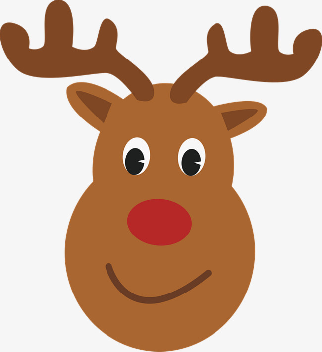 650x710 Cute Moose Head, Deer, Reindeer, Rudolph Png Image And Clipart