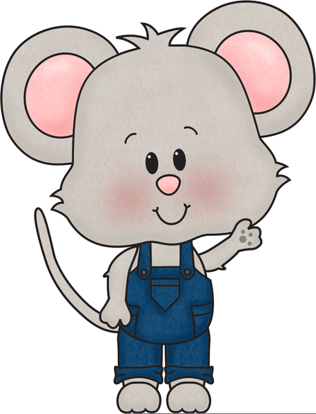 458x600 Cute Mouse Clipart Free Images