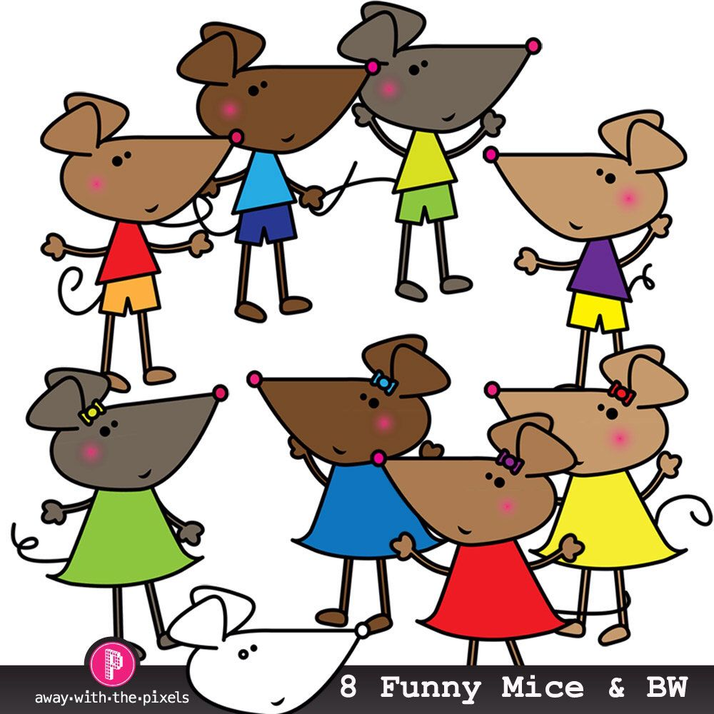 1000x1000 Funny Mouse Clipart