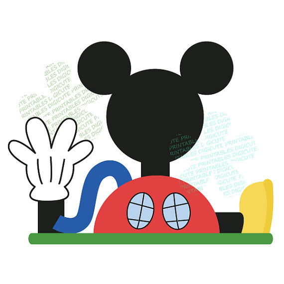 570x570 Mickey Clubhouse 1 Clipart