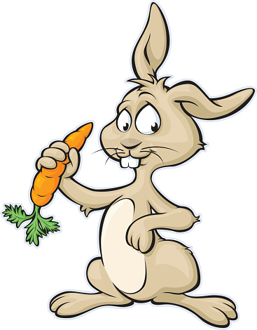 367x470 Collection Of Cute Bunny With Carrot Clipart High Quality