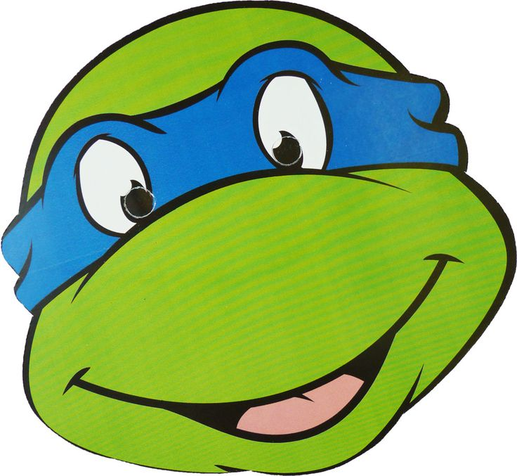 736x677 Ninja Turtles Clipart Face