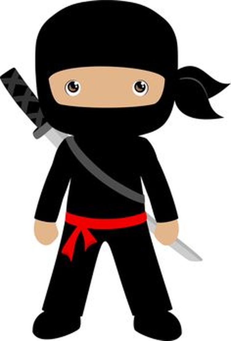 750x1103 Collection Of Kid Ninja Clipart High Quality, Free Cliparts