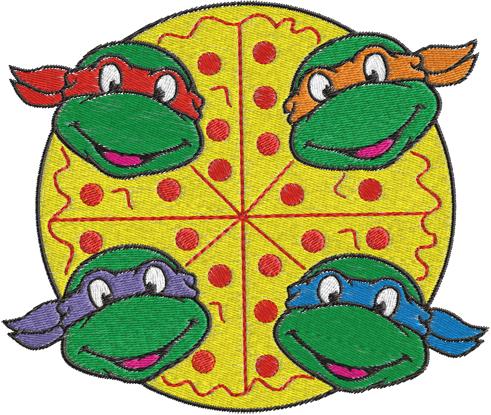 491x415 Ninja Turtle Clip Art Ninja Turtle Clip Art Clipart Panda Free