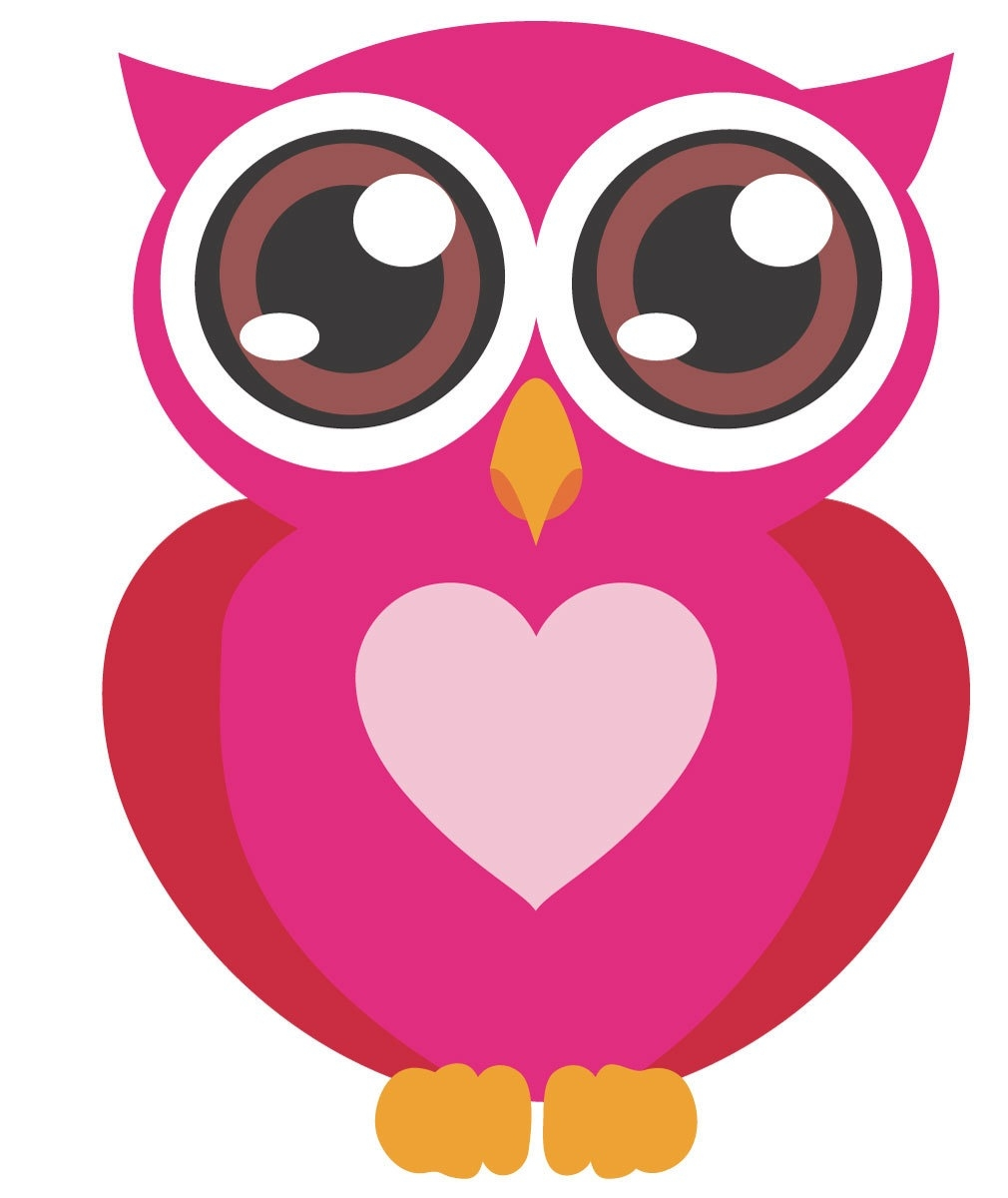 1010x1200 Owls Clip Art Pink With Bows