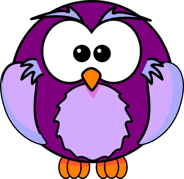 600x585 Purple Cow Clip Art Purple Owl Clip Art Vector Clip Art