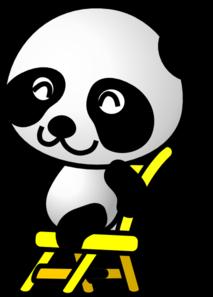 213x297 Cute Panda Bear Clip Art