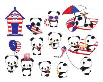 340x270 Cute Pandas Clip Art Panda Clip Art Panda Clipart Cute