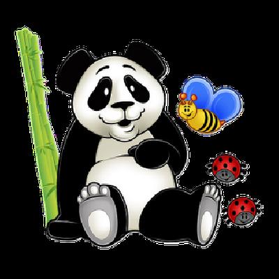 400x400 Panda Bear Clipart 6.png