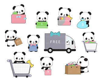 340x270 Panda Clip Art Panda Clip Art Panda Clipart Cute Panda