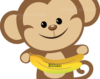 340x270 Free Monkey Clipart For Baby Shower Cute Monkey Clip Art Clipart