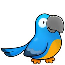 220x220 Parrot Fluff Favourites Clip Art, Animal And Bird